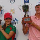 Paul Chaplet e Isabella Fierro, los ganadores al final del Abierto Sudamericano Amateur 2017