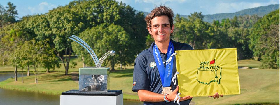 El chileno Tomás Gana se queda con la victoria en el Latin American Amateur Championship
