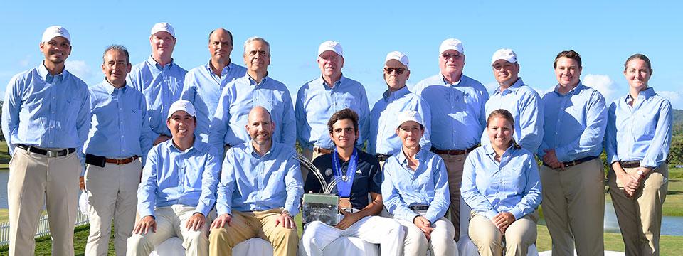 El Latin American Amateur Championship, con presencia de importantes directivos y jueces de la Federación Sudamericana