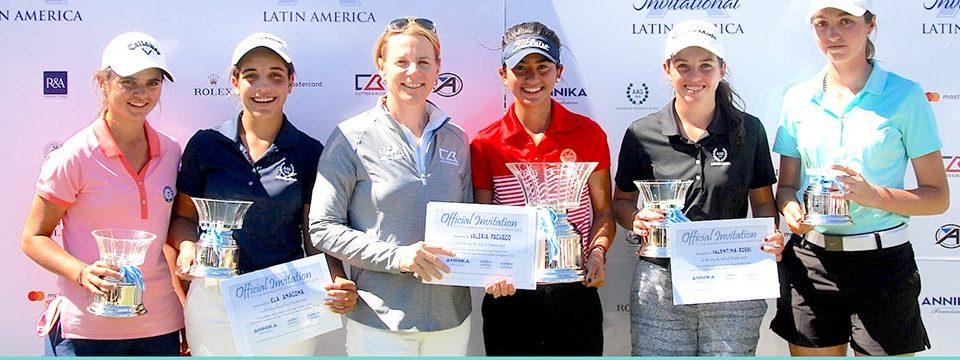 Valeria Pacheco se quedó con la victoria en el Annika Invitational 2017