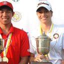 Chris Crisologo y Milagros Chávez, los campeones en el Abierto Sudamericano Amateur 2018