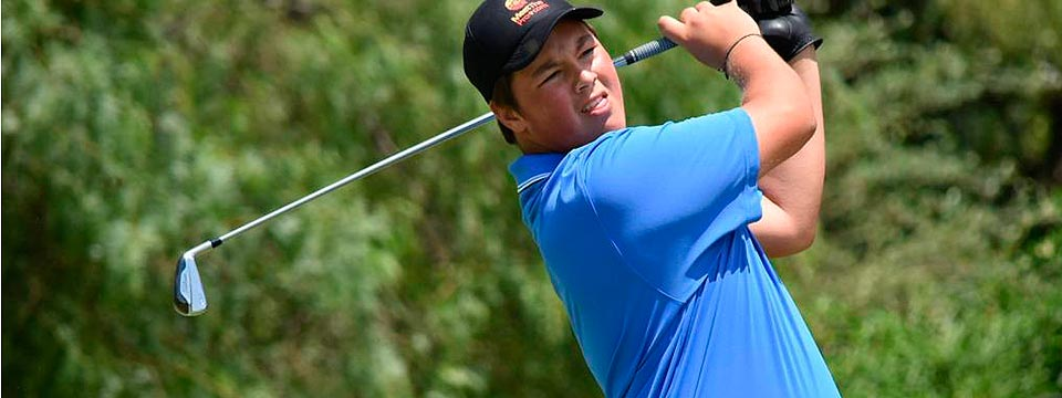 Quinto puesto para el argentino Abel Gallegos al final del The Junior Open Championship