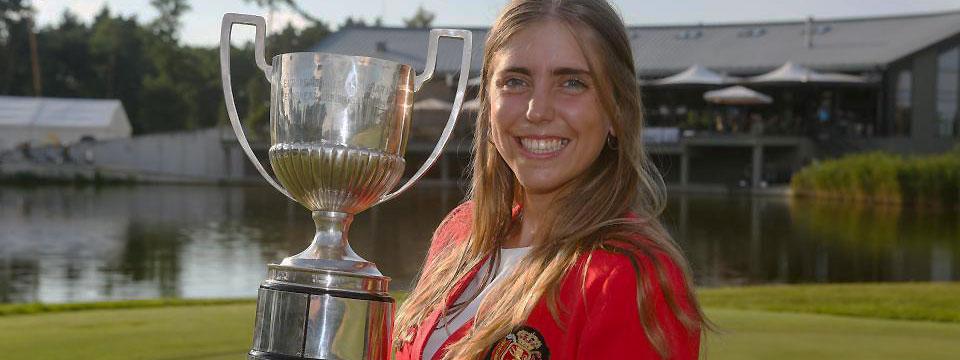 Puesto 16 al final para la paraguaya Milagros Chávez en el European Ladies Amateur; Celia Barquín, la ganadora