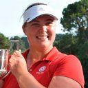 La inglesa Alice Hewson, ganadora en el Women's British Open