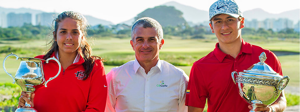 Garcés, Escauriza, Argentina y Venezuela: campeones en el Nacional Amateur en Brasil