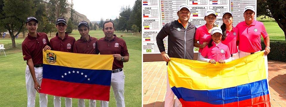 Venezuela y Colombia, los campeones sudamericanos prejuveniles 2019