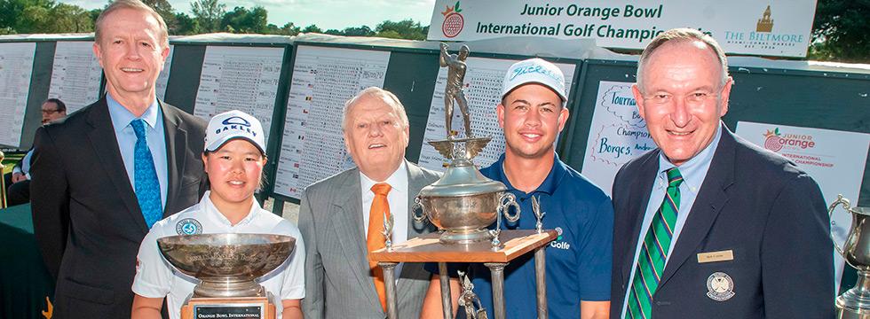 El brasileño Andrey Borges, campeón en el Junior Orange Bowl
