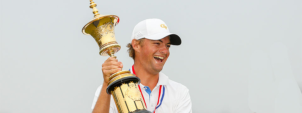 Tyler Strafaci, el ganador del U.S. Amateur Championship