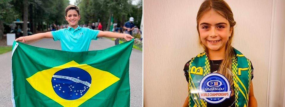 Títulos y reconocimientos sudamericanos en el reciente U.S. Kids Golf Championship