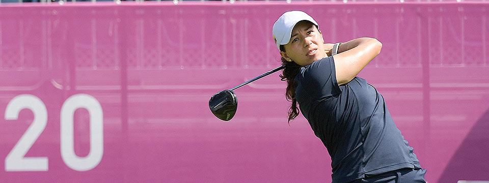 Sigue Darquea como la mejor sudamericana en el golf olímpico