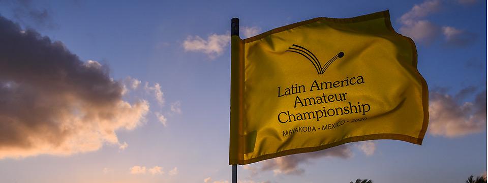 Todo listo en Mayakoba para el Latin American Amateur Championship 2020