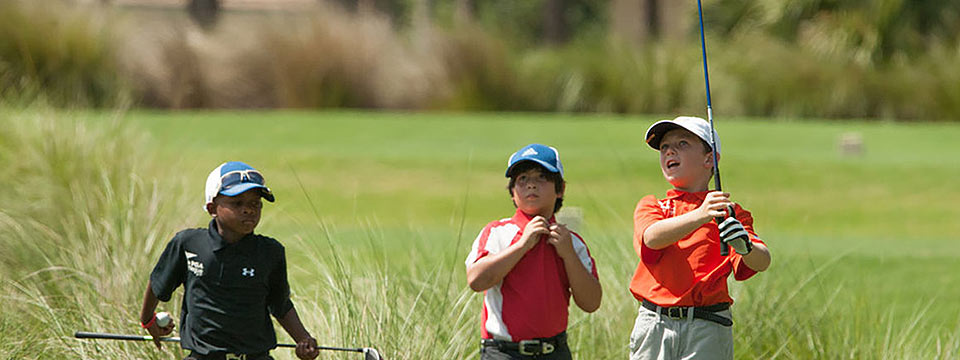 Golf infantil y juvenil se reactiva en Venezuela  y Colombia