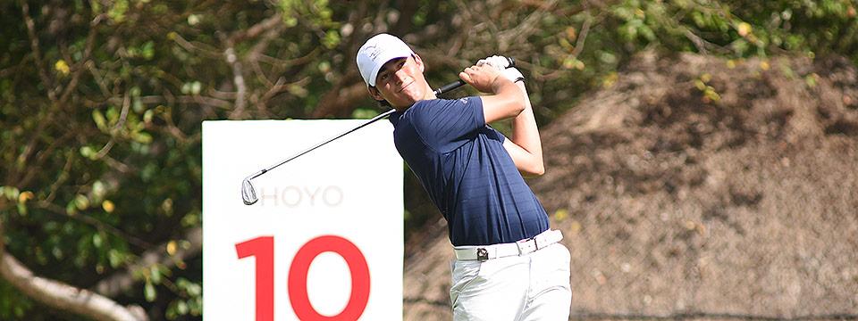 Renato Naula, el golfista destacado en Ecuador por estas fechas