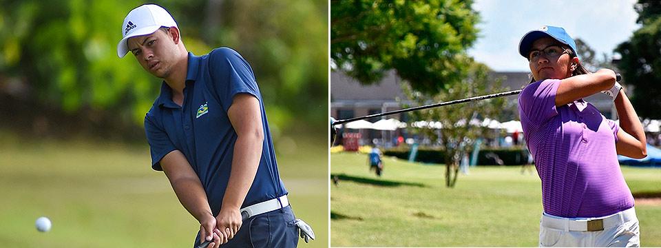 Andrey Borges Xavier y Agustina Zeballos, los líderes iniciales del Ranking Sudamericano Amateur