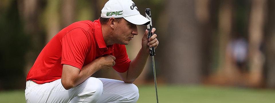 Emiliano Grillo lideró la presentación sudamericana en el golf mundial