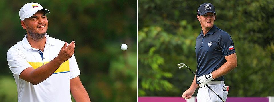 Muñoz y Pereira, protagonistas sudamericanos del golf olímpico
