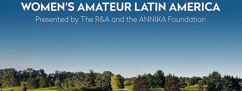 El field del Women's Amateur Latin America toma forma